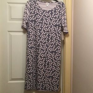 LuLaRoe Dresses - 👗LulaRoe Julia Dress  Large